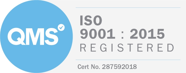 AIE ISO9001 Badge